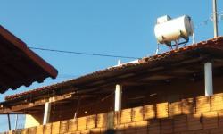 Aquecedores solares de COHAB´s estouraram com o frio