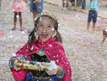 Último dia de carnaval teve matiné para a criançada e família