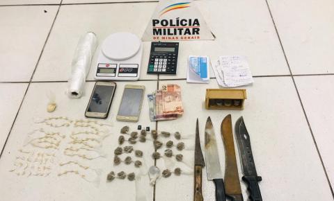 Prisão por tráfico de drogas em Botelhos